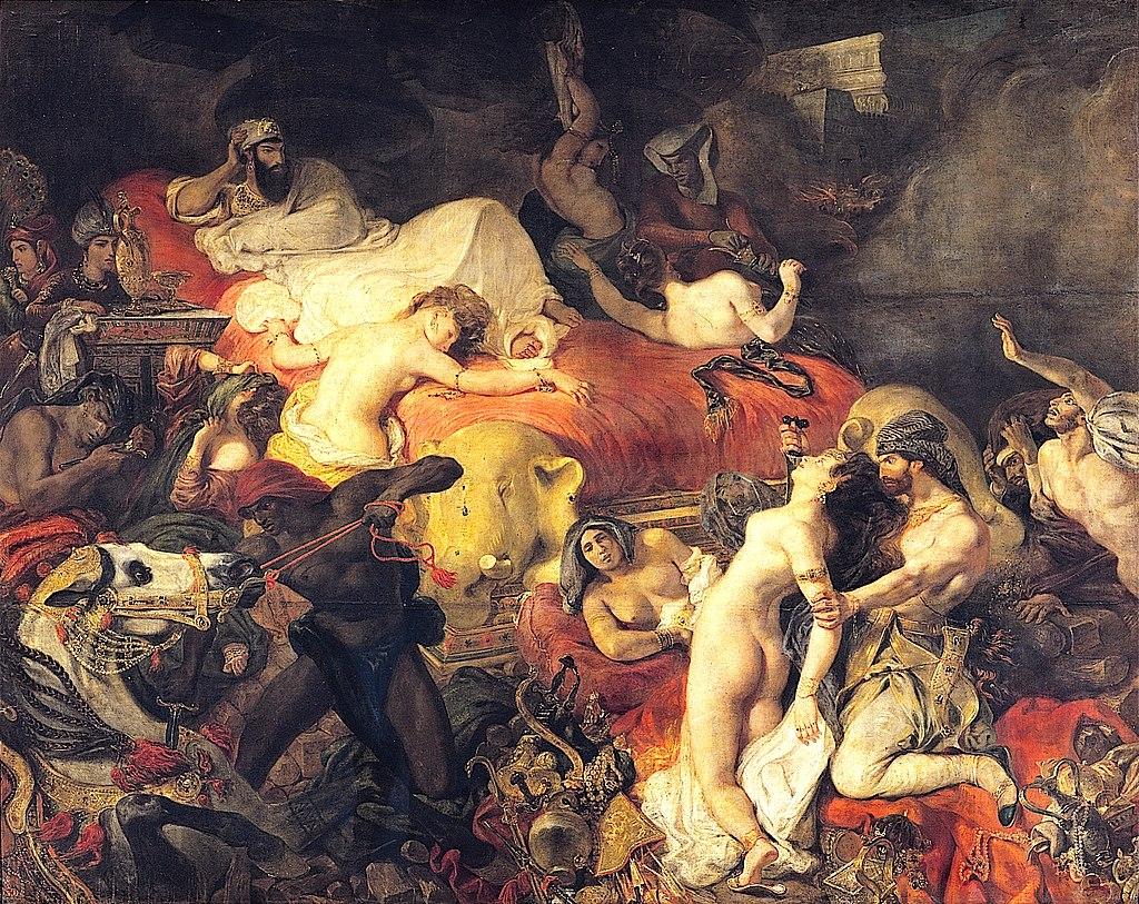 Death of Sardanapalus
