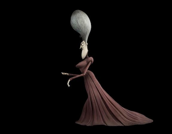 """The Maudeline Everglot puppet from the 2005 """"Corpse Bride"""" film."""