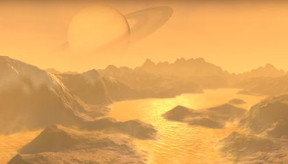 On Saturn's Moon Titan, Living Cells May Be Very Different From Ours