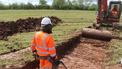 Artifacts from the Final Battle of the English Civil War Uncovered During Road Project image
