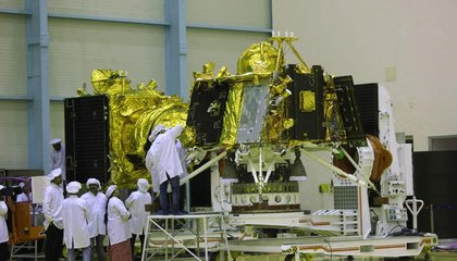 India Locates Lost Lunar Lander but Struggles to Reestablish Contact image