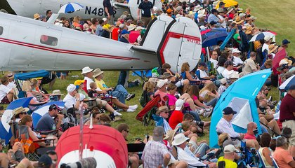 On Patrol at the World's Biggest Fly-In