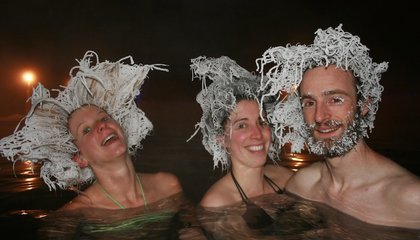 Expect Stiff Competition at This Year's International Hair Freezing Contest image