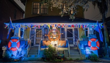 With Mardi Gras Parades Canceled, New Orleans Residents Are Turning Their Houses Into Floats image